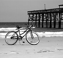 Bike on the beach by jackdouglas