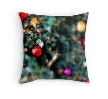 Christmas Setting, Series 4 Throw Pillow