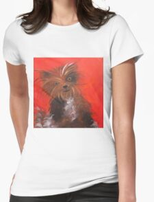 Sascha's Pup Womens Fitted T-Shirt