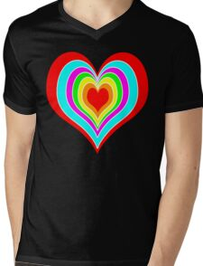 Layers of love Mens V-Neck T-Shirt