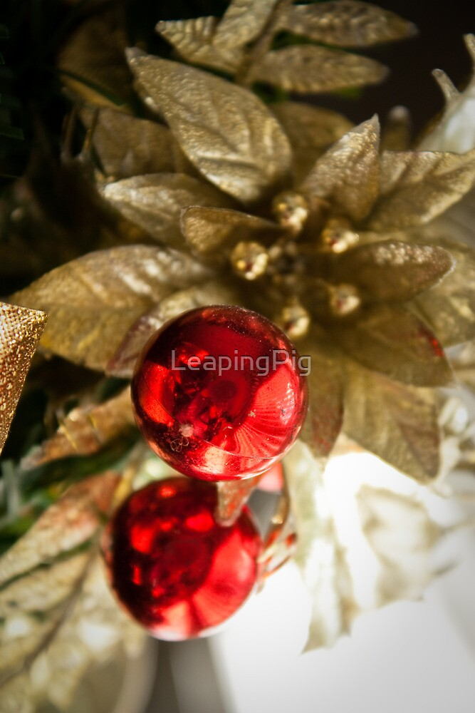 Christmas Balls by LeapingPig
