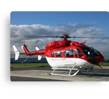 Helicopter Eurocopter EC145 #2 Canvas Print