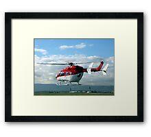 Helicopter Eurocopter EC145 #3 Framed Print