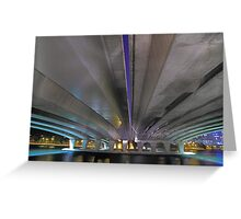 Under The Narrows Bridges  Greeting Card