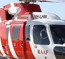 Helicopter Sikorsky S76A RAAF#3 SAR by Mark Hamilton
