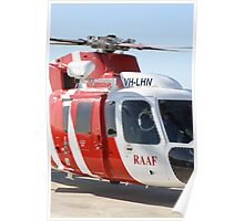 Helicopter Sikorsky S76A RAAF#3 SAR Poster