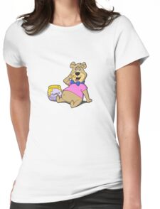 Hunny Boo Boo Womens Fitted T-Shirt
