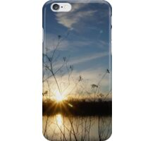 sun setting iPhone Case/Skin