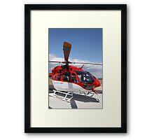 Helicopter Eurocopter EC145 #6 Framed Print