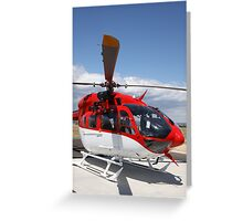 Helicopter Eurocopter EC145 #6 Greeting Card