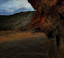 Bells Beach sand ripples by Murray Swift