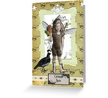 Christmas Sprite Greeting Card
