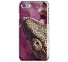 A Panther Chameleon iPhone Case/Skin