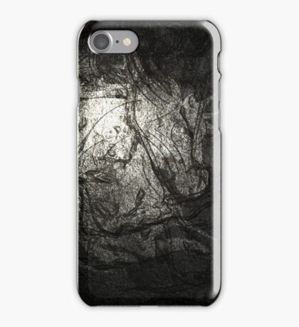Silver Horse coat of arms. iPhone Case/Skin