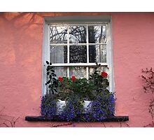 Bunratty Folk Park window Photographic Print