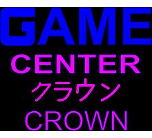 Sailor Moon Crown Arcade  Photographic Print