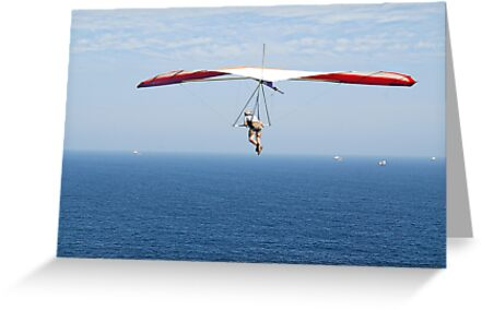 Hanging around on the Horizon - Strezleki Lookout Newcastle NSW by Phil Woodman