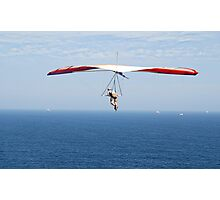 Hanging around on the Horizon - Strezleki Lookout Newcastle NSW Photographic Print