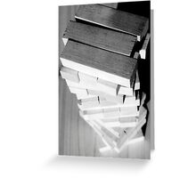 Teetering Greeting Card