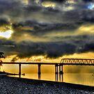 Hood Canal Bridge #2 ~ Port Townsend, WA ~ HDR Series by lanebrain photography