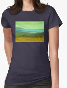 Out in the Sticks Womens Fitted T-Shirt