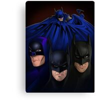 Batman on the Big Screen Canvas Print