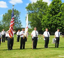 Military Funeral Service by ericasphotos