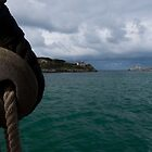 Santander approach from a tallship by Xabier Armendariz