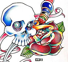 .:Skull'n'Dagger:. by Croey