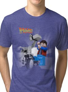 Brick to the Future Tri-blend T-Shirt