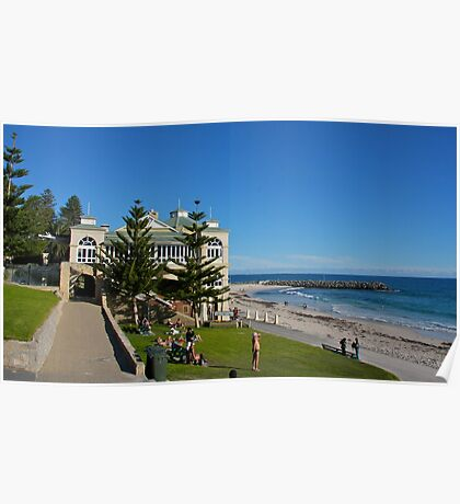 Lazy Cottesloe Afternoon Poster