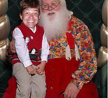 Santa and Me by Jeff  Burns
