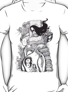 The Owl Carrier (5154) views) T-Shirt
