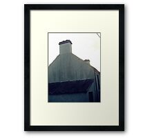 Old green house in bantry. Framed Print
