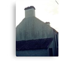 Old green house in bantry. Canvas Print