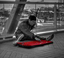 Street Performer - Hong Kong by HKart