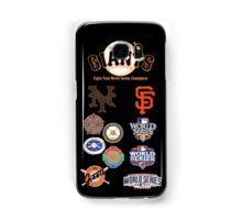 Giants 8-Time World Series Champions Samsung Galaxy Case/Skin