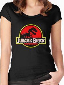 Jurassic Brick Women's Fitted Scoop T-Shirt