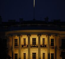 The White House, Washington, D.C. -- Night by CG1977