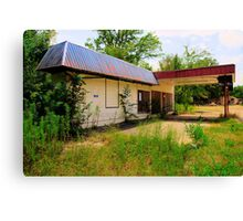 Closed Station Canvas Print