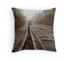 subway ttv fake Throw Pillow