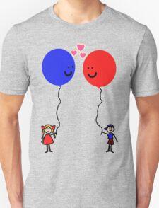 Balloon Love Unisex T-Shirt