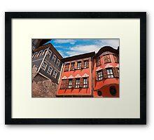 Plovdiv Architecture Framed Print