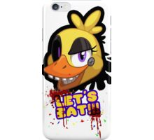 FNAF Let's Eat quote iPhone Case/Skin