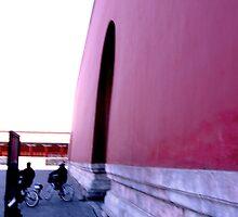 Forbidden City- Beijing 1 by Michael Berns