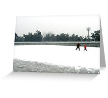 Temple of Heaven- Winter, Beijing Greeting Card