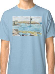 Lone Pine, Across Emily Bay Classic T-Shirt