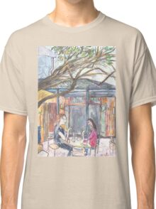 Afternoon at the Italian Café in Leichhardt Classic T-Shirt