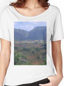 an incredible Cuba landscape Women's Relaxed Fit T-Shirt