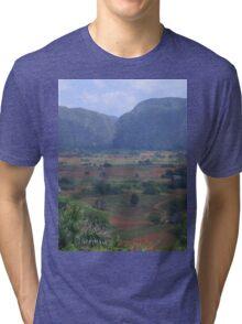an incredible Cuba landscape Tri-blend T-Shirt